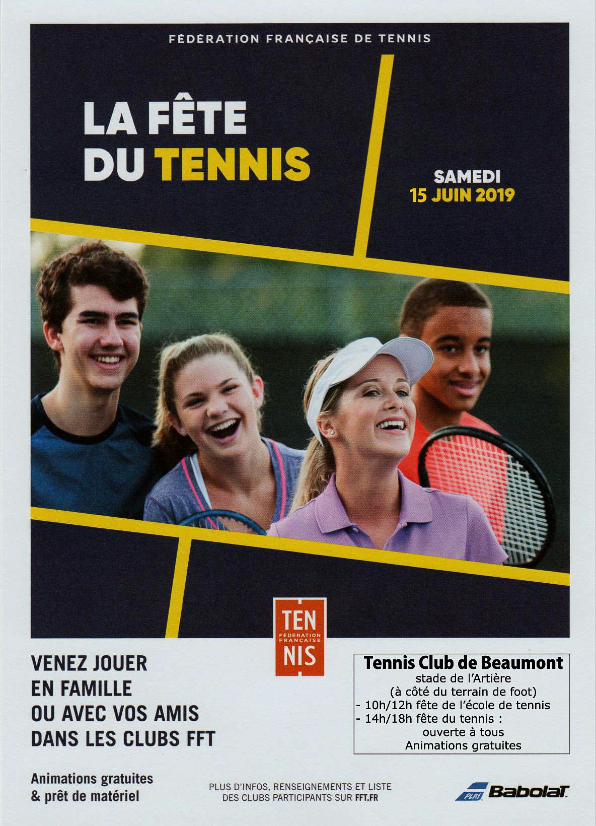 flyer fete tennis
