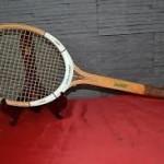 Vieille raquette de tennis